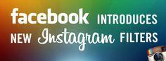 New Instragram filters for Facebook