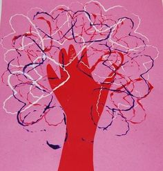 "#ValentinesDay ""Tree of Love"" Craft for #kids #kidscrafts"