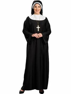 The Womens Plus Size Nun Costume is the perfect 2019 Halloween costume for you. Show off your Womens costume and impress your friends with this top quality selection from Costume SuperCenter! Nun Halloween Costume, Nun Costume, Fancy Costumes, Costume Shop, Adult Costumes, Costumes For Women, Deer Costume, Turtle Costumes, Cowgirl Costume