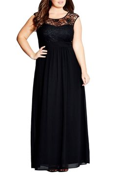 Melisita - Kristi Long Dress in Black