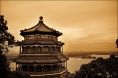 Tower of Buddhist Incense--Haidian District, Beijing China