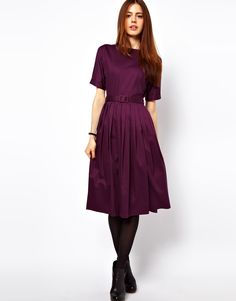 Another simple beauty in a rich shade of plum.