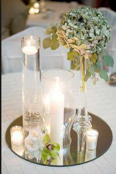 Great deal on mirrors! These are shipped fast and work great for centerpieces! There are also square mirrors available for the same price $3 per mirror! http://www.bliss-bridal-weddings.com/#!product/prd3/3136572061/6-round-centerpiece-mirrors