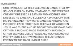 This is why Halloween is the fucking shit