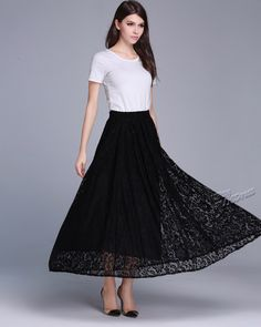 ANY SIZE lace expansion skirt plus size skirt plus size clothing summer skirt summer clothing by AnySize on Etsy https://www.etsy.com/listing/191649471/any-size-lace-expansion-skirt-plus-size