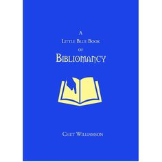 A Little Blue Book of Bibliomancy by Chet Williamson — Signed, Limited Edition | Borderlands Press