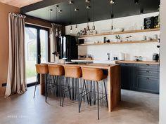 Kuchnia - projekt NYLOFT — HOUSE LOVES Table, Furniture, Interior, Home Decor, Decoration Home, Room Decor, Design Interiors, Home Furniture, Interiors
