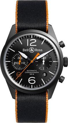 Bell & Ross BR 126 Sport Heritage GMT Flyback