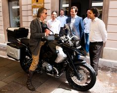 Jeremy Irons R1200 GS