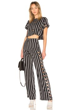 x REVOLVE Holden Pant House of Harlow 1960 + x REVOLVE Juno Crop Top http://spotpopfashion.com/latest-spots/