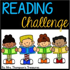 FREE Reading Challenge Editable Board