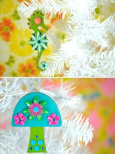 MAKE | Enid Collins-Inspired Christmas Ornaments