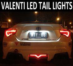 """SG"" Tail Lights Valenti Smoked LED Set Toyota 86 FT86 GT86 Subaru BRZ   eBay"