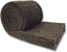 None of that fiberglass insulation here! All natural felted wool insulation - no chemicals...just wool, soap, and hot water.