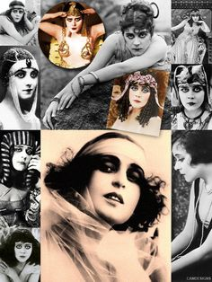 """Theda Bara (born Theodosia Burr Goodman; July 29, 1885 – April 7, 1955) was an American silent film actress – one of the most popular of her era, and one of cinema's earliest sex symbols. Her femme fatale roles earned her the nickname """"The Vamp"""" (short for vampire). She was one of Hollywood's highest paid actors and made more than 40 films, but complete prints of only six still exist. Bara is also one of the most famous completely silent stars – she was never filmed in sound, lost or…"""