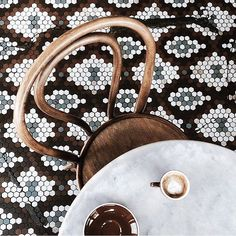 Yes please! Loving this floor mosaic tiles. It matches my coffee:)  #mosaic#cafe#streetwear#coffee#everyday#furniture#sophisticated#contemporary#chic#fashion#style#interiordesign#interior#homedecor#decor#architecture#nyc#saopaulo#sydney#designcrush#instagood#picoftheday#instadesign#instainteriors#love#classic#ejordaodesignloves by erick_jordao
