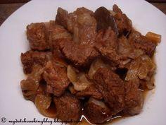 The Dutch Table: Hachee (Dutch Stewed beef)