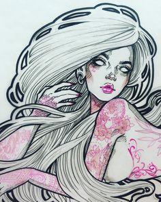 Deetz ✨ #graphicartery #artshare #artwork #myart #sketch #draw #artsy #arte #art #artnerd #artist #illustration #artistsoninstagram #instaart #artcollective2015 #artfido #im_gallery #art_spotlight #art_motive #worldofpencils #worldofartists #spotlightonartists #instartpics #tattoos
