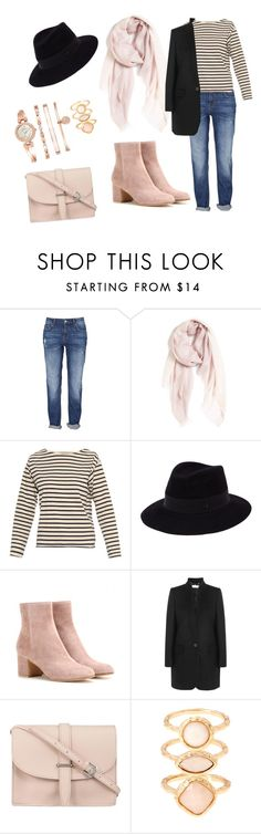 """""""Untitled #81"""" by nurkovicselma on Polyvore featuring Nordstrom, MiH Jeans, Maison Michel, Gianvito Rossi, STELLA McCARTNEY, M.N.G, Monsoon and Anne Klein"""