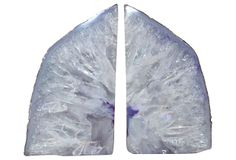 Purple Crystal Geode Bookends on OneKingsLane.com  **Does this look like lungs to anyone else?**