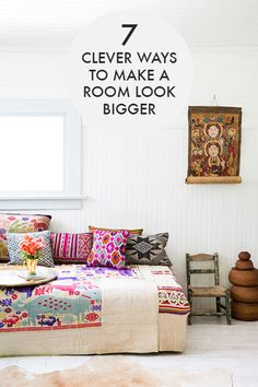 7 Ways To Make A Room Look & Feel Bigger