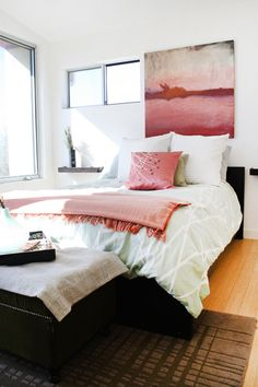 Paint colors that match this Apartment Therapy photo: SW 6320 Bravado Red, SW 9107 Über Umber, SW 7757 High Reflective White, SW 6258 Tricorn Black, SW 7653 Silverpointe