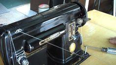 1951 Singer 301 sewing machine demonstration.mp4
