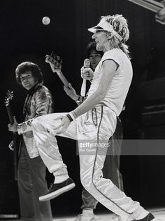 Rod Stewart during Rod Stewart Performs at Madison Square Garden - June 9, 1979 at Madison Square Garden in New York City, New York, United States.