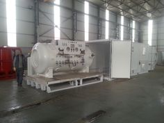 Thermal container -  with HP compressor and airconditions systems