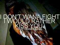 What My bf sent me:) so cute love him! I want to fight and end up kissing