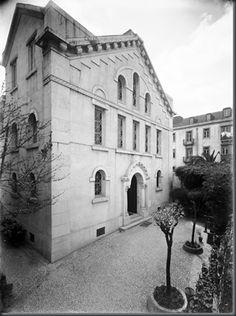 Sinagoga de Lisboa: Arquitecto Miguel Ventura Terra