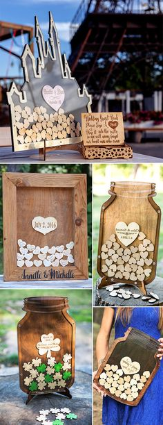 There are some of talented designs from Etsy that can make your guest book unique and stunning.For some inspiration for images of alternative rustic guest book, continue reading!
