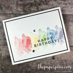 They Say It's Your Birthday - InKing Royalty Blog Hop - The Paper Pixie