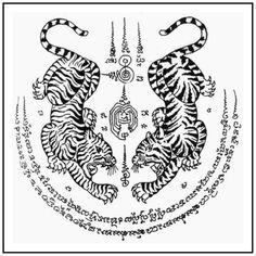 Sak Yant Tattoo Laos