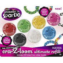 Cra-Z-Loom Rubber Band Bracelet Refills - 2000 - Ultimate