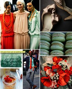 absolutely beautiful color palatte: love pops of red with neutral colors