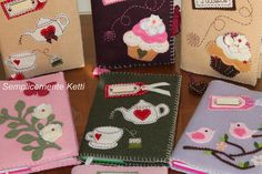 Semplicemente Ketti Needle Book, Journal Covers, Big Shot, Scrap, Gift Wrapping, Diy Projects, Handmade, Books, Ideas