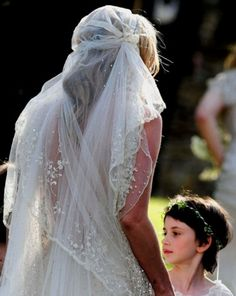 The most stunning veil I have ever seen....