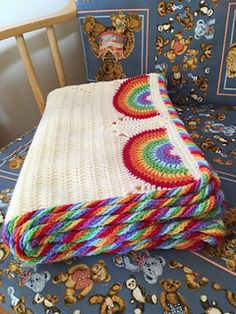 rochet blanket rainbow | easy crochet pattern - Here it is - the release of my Making Rainbows Blanket Crochet Pattern.