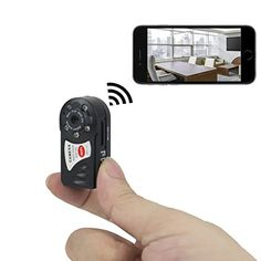 "Worthy for buy! GOCHANGE Mini WiFi IP Camera HD DVR Hidden Spy Camera Video Recorder Indoor / Outdoor Security Support iPhone / Android Phone / iPad / PC - Find and read appropriate and useful Including trends For make the right decision ""Appropriate a Camera Portable, Wireless Spy Camera, Dvr Camera, Mini Camera, Radios, Support Iphone, Motion Activated Camera, Ghost Hunting Equipment, Hidden Spy Camera"
