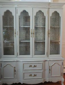 paints for kitchen cabinets provincial style hutch with antique white paint 24566