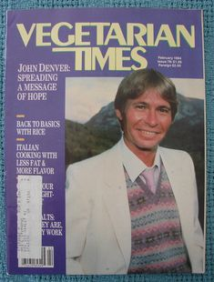 Magazine cover from 1984.  John D.