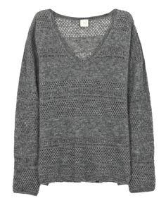 Des Petits Hauts Des Petit Hauts Crinette Knit Grey