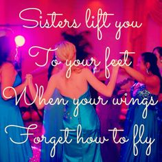 sisters lift you UP♡