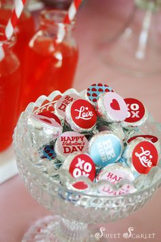 Valentine's Day Hershey's Kisses
