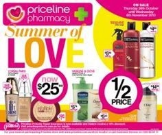 Summer of Love Catalogue @ Priceline - Posted on Oct 2013