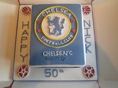 chelsea cake By sue07 on CakeCentral.com