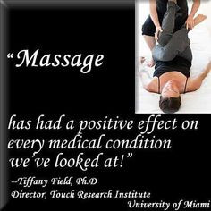 Don't underestimate the healing potential of massage therapy