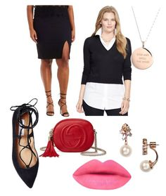 """""""All in the accessories"""" by dayana-perez on Polyvore featuring Charlotte Russe, Steve Madden, Ralph Lauren, Kate Spade, Gucci, women's clothing, women, female, woman and misses"""