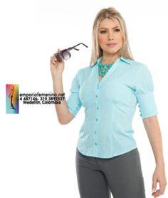 7e5c22e04c8 Uniformes Ejecutivos Para Dama, Uniformes Para Oficina, Uniformes  Empresariales, Pantalones Femeninos, Cuellos